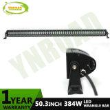 """50 """" 384W ciao basso irradiano la barra chiara di azionamento di IP67 LED per il Wrangler della jeep"""