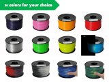 ABS 1,75mm Color cambió de filamentos de impresión 3D