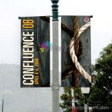 Bannières verticales personnalisées de haute qualité pour lampadaires pour événements publicitaires