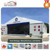 Aluminium et tente de hangar de PVC à vendre aux avions de stationnement