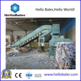 Máquina de embalaje semiautomática horizontal de Hellobaler con el transportador