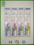 Superqualität mit Aufkleber auf Verpackungs-gutem Griff mit Cer-anerkannter erwachsener Zahnbürste