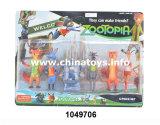 """新型の子供のおもちゃのプラスチック5-5.5 """"動物の一定の人形はもてあそぶ(1049706)"""