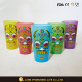 16oz Color Spray pinta Vaso de vidrio