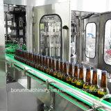 Maschine in-1 automatisches der Glasflaschen-Bier-füllende mit einer Kappe bedeckende Flaschenabfüllmaschine-3