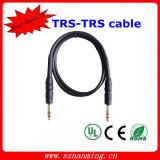 De elektrische Kabel van de Gitaar van de Kabel van de Gitaar Audio Mannelijke