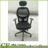 Cadeira altamente traseira do escritório da cadeira do engranzamento do gerente com assento para pés