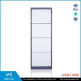 Mingxiu 사무용 가구 4 서랍 금속 파일 캐비넷/서랍 강철 파일 캐비넷 가격