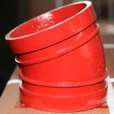 Высокие штуцеры трубы утюга давления 300psi дуктильные локоть 90 градусов