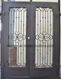 Tipo barato portas do preço da alta qualidade da segurança da parte dianteira do ferro das portas de entrada