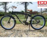 Bicicleta da praia com a bateria de lítio para a bicicleta elétrica masculina