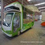 Elektrisches mobiles Buffet-Solarauto, speisendes Auto