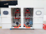 Máquina de fabricação de cabos LAN Máquina de encadernação de bobina traseira de duas bobinas