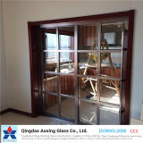Silk-Printed/Clear закаленного/закаленного стекла на дверь/здание