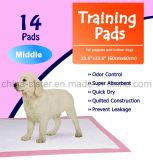 余分吸収性ペット子犬の家のトレーニングの小便のパッド