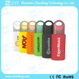 Multicolor Sliding Plastic USB Flash Drive com logotipo (ZYF1812)
