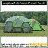 10 شخص كبيرة كبيرة ظلة كرة قدم يخيّم قبة خيمة مستديرة