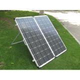 портативные наборы панели солнечных батарей 160W с штепсельной вилкой и кабелем Anderson
