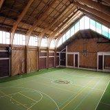 Materiais de PVC para Interior/Exterior Piso para Tribunal Baskestball fabricados na China