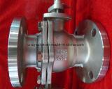 Valvola a sfera dell'acciaio inossidabile di JIS10k Dn50 (Q41F-10K-DN50)