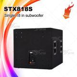 """Stx818s kies 18 """" Spreker Subwoofer, de Audio van de Spreker uit"""