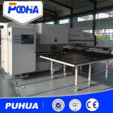 Máquina de perfuração mecânica do furo da torreta do CNC para a placa de aço inoxidável