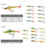 Brand New Wholesale Vmc Hook Pliant Jig Fishing Lure