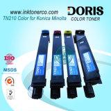 Cartucho de tóner compatible TN210 Copiadora del Color de Konica Minolta Bizhub C250 C252 C250P C252P