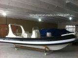 China Liya 20ft FRP Boats Bateau de sauvetage avec moteur hors-bord
