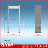 金属探知器を通る国際規格のAnerの歩行との最も安い価格