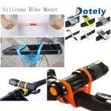 Bande de support de support de vélo de moto de bicyclette de silicones pour le téléphone cellulaire intelligent