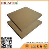 4x8 pies Plain MDF MDF melamina / Raw frente