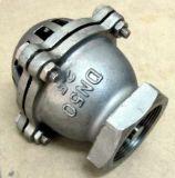 Válvula de aspiração do aço inoxidável de extremidade de linha do parafuso (H42)
