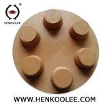 3'' plancher de béton des plaquettes de meulage