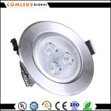 70lm/W SMD3030   LED-Panel Downlight mit Cer u. RoHS