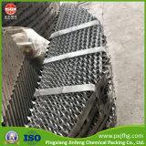 Empaque estructurado de metal de transferencia de masa 125 y 250 y 350 y 500Y.