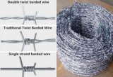 Galvanisierter überzogener Stacheldraht des Stacheldraht-/PVC