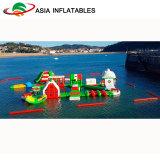 Het opblaasbare Drijvende Water Playgrund van het Park Aqua voor Meer
