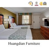 ホテルの木の寝室セット(HD1005)
