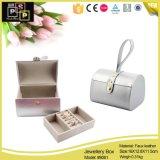 Doble capa personalizada joyería oro joyería de cuero de la caja de regalo Box (8061R1)