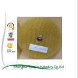 Plaque de support abrasive de fibres de verre employant pour le disque d'aileron renforcé par fibre de verre