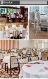Sterk Staal/Aluminium Geïmiteerde Houten Stoel voor Banket/Hotel/Restaurant/Zaal