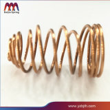 Muelle de compresión de cobre para el mecanizado de precisión