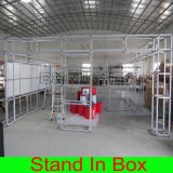Cabina de aluminio portable respetuosa del medio ambiente modular de la feria profesional para el soporte de la exposición