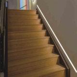 LED-Strangpresßling-Profil, Aluminiumstreifen-Licht-Diffuser (Zerstäuber), LED-Streifen-Kanal