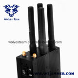 Verkiesbare Draagbaar Al Stoorzender van het Signaal van de Telefoon van de Cel 2g 3G 4G & GPS Stoorzender