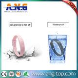 Программируемые водонепроницаемый пассивный силиконовый браслет RFID