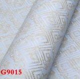 Tissu de mur de PVC, papier peint de PVC, PVC Wallcovering, papier de mur, tissu de mur, papier peint