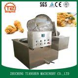 Éclaille de friteuse et de manioc de Stir de beignet faisant frire la machine