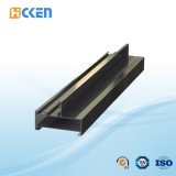 Giunto di supporto di alluminio nero certificato del motore passo a passo di montaggio di metallo della lamiera rivestita di iso 9001